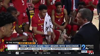Terps' tough test begins Friday with Wisconsin