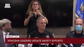 Kenosha County Sheriff David Beth updates Kenosha safety efforts