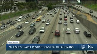Quarantined: New York, New Jersey require travelers from Oklahoma to quarantine two weeks