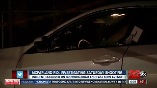 McFarland Police investigating shooting