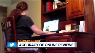 Accuracy of online reviews