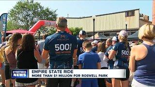 Empire State Ride raises over $1 million for Roswell Park