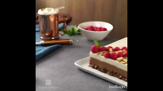 No-Bake Chocolate Almond Cheesecake