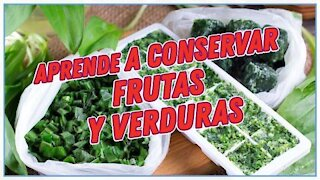 Learn how to keep your fruits and vegetables Delirante Kitchen
