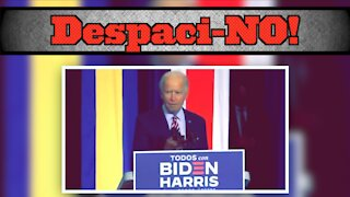 Cringeworthy Meets Clueless When Biden Plays 'Despacito'