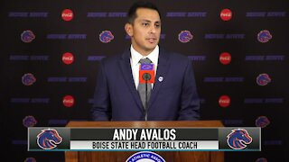 He's back! Andy Avalos introduced as Boise State's 11th coach