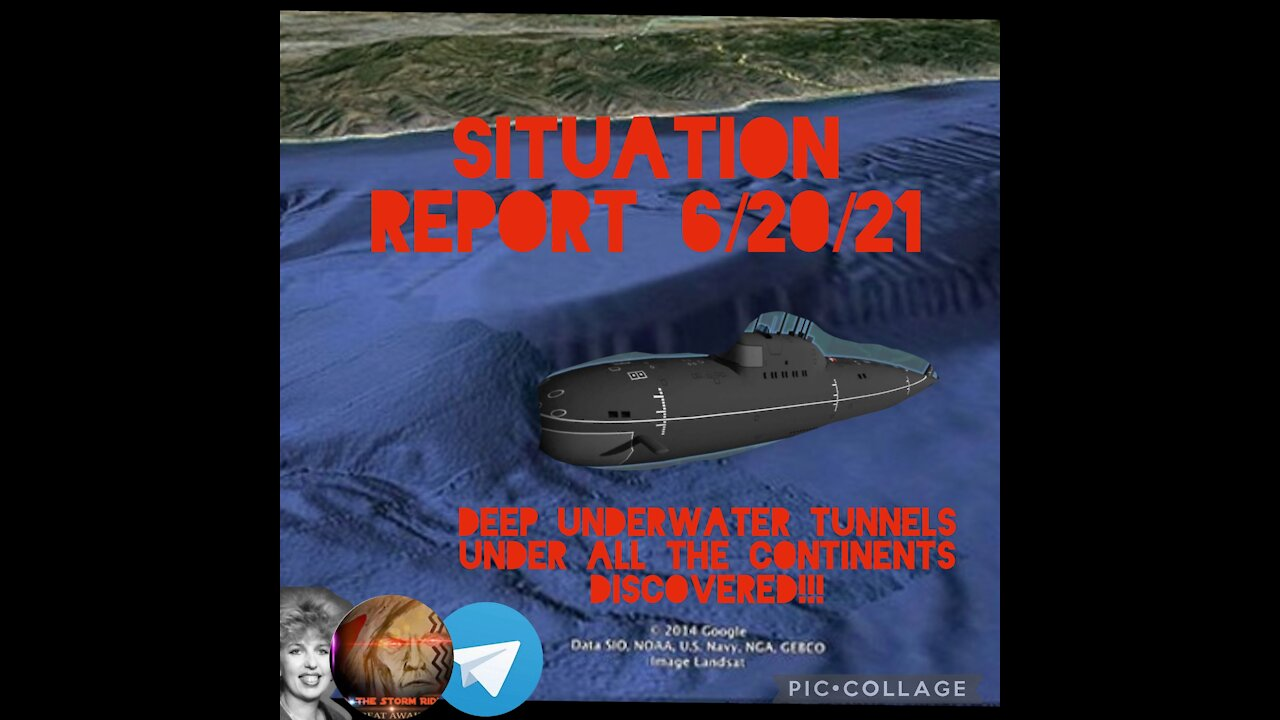 Situation Report: Deep Underwater Tunnels Under All The Continents Discovered!! - Must Video