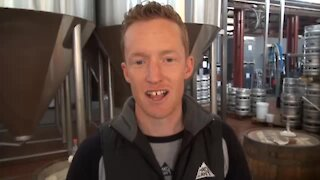 South Africa - Johannesburg - Mad Giant making award-winning beer (Video) (2DP)