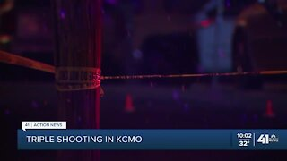 KCPD investigates triple shooting in 6300 block of Agnes Avenue