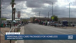 Valley man delivers personal requests to local homeless population