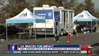 Gov. Newsom says California prepared for COVID-19 resurgance