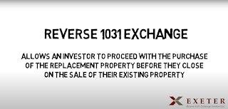 Reverse 1031 Exchanges