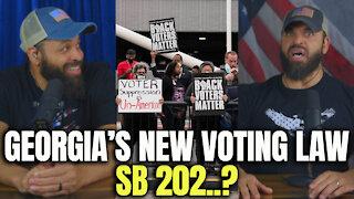 Georgia's New Voting Law SB 202?