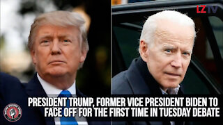 President Trump, Former Vice President Biden Face Off