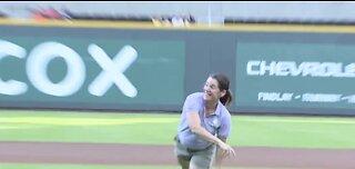 Domestic Violence Awareness Night at ballpark