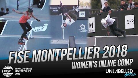 Women's Inline Comp at FISE WORLD Montpellier 2018