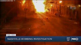 Christmas explosion in Nashville