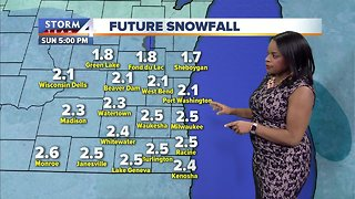 Chance for flurries, otherwise mostly cloudy and windy