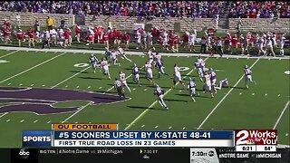 Sooners Upset by Kansas State 48-41