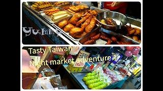 [Tasty Taiwan] Night market adventure episode 1