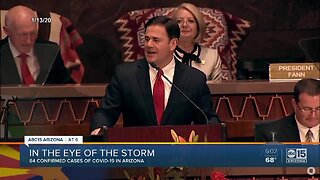 Governor Ducey, state officials, face unprecedented challenges amid coronavirus response