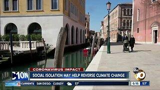 Coronavirus Isolation may help reverse climate change