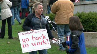 Protestors demand end to Stay at Home order