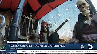 Rancho Bernardo family creates haunted house experience