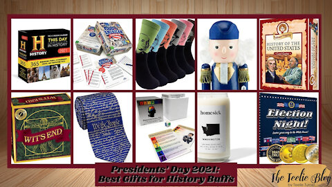 The Teelie Blog | Presidents' Day 2021: Best Gifts for History Buffs | Teelie Turner
