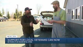 Local veterans open an online retail store during the pandemic