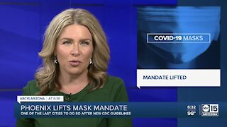 Phoenix lifts mask mandate