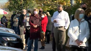 Big turnout in Waukesha county for Day 1 of Early Voting