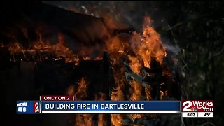 Building catches fire twice in Bartlesville