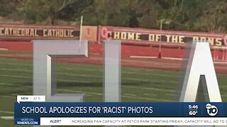 High school apologizes after 'racist' student photos surface