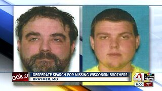 Search continues for missing Wisconsin brothers in northwest Missouri