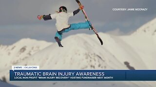 A record-breaking freestyle skier shares her journey to recovery following traumatic brain injury