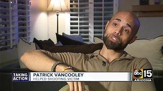 Valley veteran helps teenage shooting victim