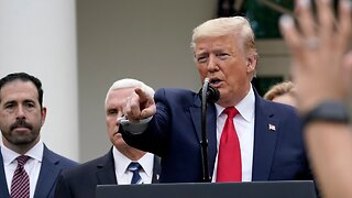 Trump Tests Negative For The Corona Virus