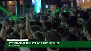 Excitement builds for NBA finals