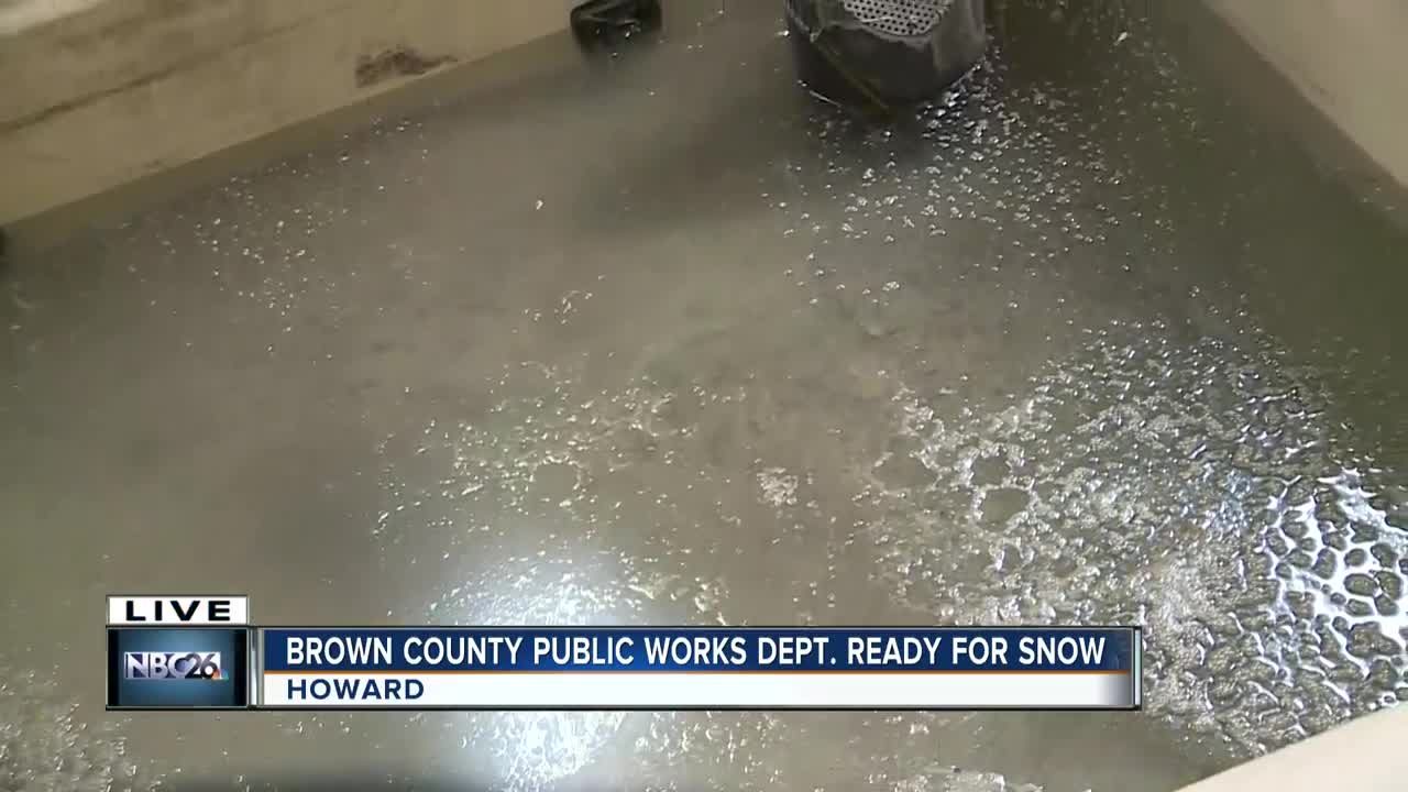 Brown County Public Works in full swing winter prep mode