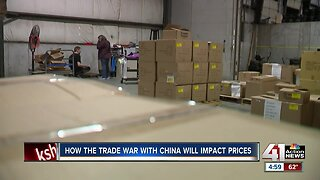 How the trade war with China will affect prices