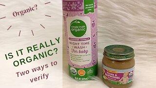 Is It Really Organic? Organic?