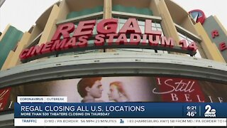 Regal Theaters closing all U.S. locations
