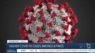 Higher COVID-19 cases among latinos