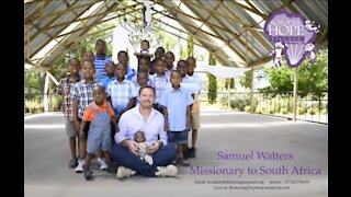 Samuel Walters Missionary from South Africa