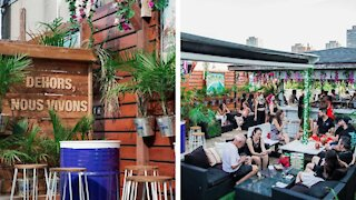 Montreal Is Getting A Colourful New Rooftop Terrasse This Summer (PHOTOS)
