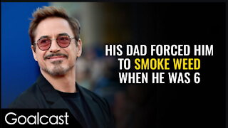 Robert Downey Jr - From Troubled Teen To Tony Stark