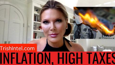 Trish Blasts Biden's Plan To TAX THE WORLD! (And Create Mass Inflation...)