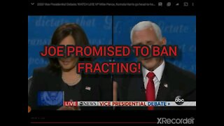 Democrats going to ban fracting & install Green OLD JOKE