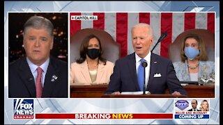 Sean Hannity Blasts Biden's Radical Speech